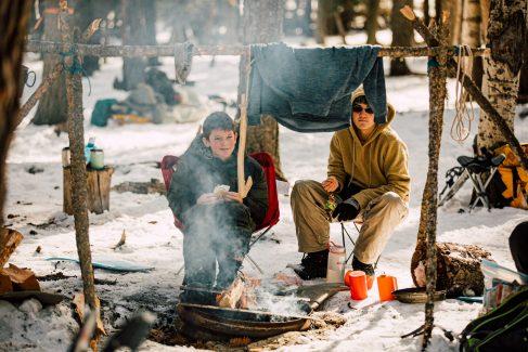 Crew 86 at Philmont Winter Adventure 2020